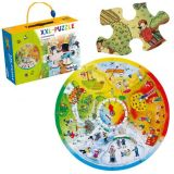 Beleduc XXL Learning Puzzle 4 Seasons