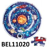 Beleduc XXL Learning Puzzle Planets