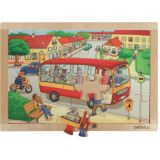 Beleduc Beleduc Big Frame Puzzle Town