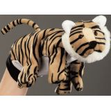 Beleduc Wild Animal Hand Puppet - Tiger