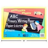 Abc Ruled Pad 40 Sheets