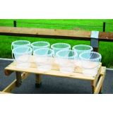 Clear Buckets Sets - Set of 8