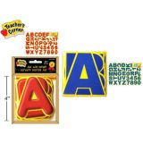 4 Alphabet and Number Letters