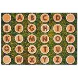 Alphabet Tree Rounds Seating Rug 6'X9' RECT