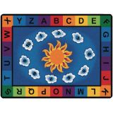 Sunny Day Learn and Play - Rectangle (5'10x8'4)