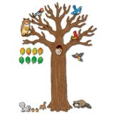 Big Tree with Animals Bulletin Board Set