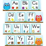 Colourful Owls Alphabet Mini B.B. Set
