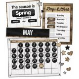 Industrial Chic Calendar Bulletin Board Set