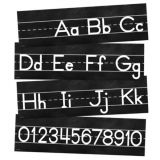 Industrial Chic Alphabet Line: Manuscript Mini Bulletin Board Set