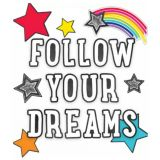 Follow Your Dreams Bulletin Board