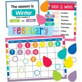 Hello Sunshine Calendar Bulletin Board Set