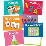 Center Cards Mini Bulletin Board Set Grade