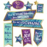 Motivational Signs Mini Bulletin Board Set