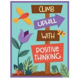Climb Uphill with Positive Thinking Chart