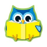 Mini Cut-Outs - Reading Owls