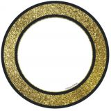 Gold Glitter Dots Cut-Outs -  Sparkle and Shine