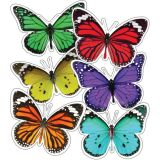 Colorful Butterflies Cutouts Assrt Design