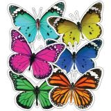 Colorful Butterflies Extra Large Cutouts Asst Design
