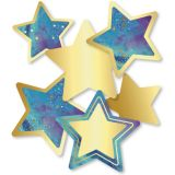 Stars Colorful Cutouts Assorted