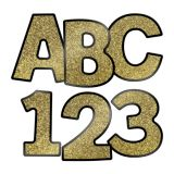 Gold Glitter Ez Letters Combo Pack 4 -  New! Sparkle and Shine