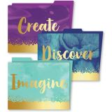 Galaxy File Folders - 6 Pack