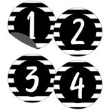 Simply Stylish Numbers Magnetic Cut-Outs