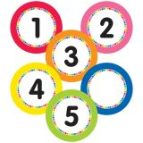 Just Teach Numbers Magnetic Cut-Outs 36Pc
