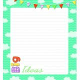 Up And Away Note Pad