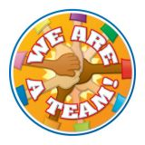 Two-Sided Décors- We Are a Team!
