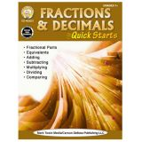 Fractions & Decimals Quick Starts Gr 7+