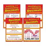 All About Decimals Chart (Set of 4)