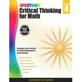 Critical Thinking For Math Gr. 4