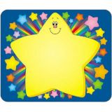 Name Tags 40 per pack - Rainbow Star