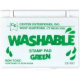 Washable Unscented Stamp Pads - Green