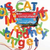 Lacing Letters - Uppercase