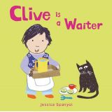 Clive's Jobs - Clive is a Waiter