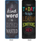 Chalk It Up! Motivational Quotes Bookmarks