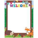 Woodland Friends Welcome Chart