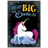 Dream Big And Sparkle On! Unicorns Cahrt