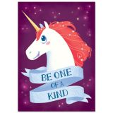 Unicorn Be One Of A Kind Poster