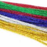 Chenille Stems- Sparkle (12 x 6mm Width)- Assorted
