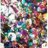 Assorted Sequins in a Bag - 250g