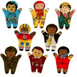 Dexter Career 8 Piece Puppet Set - Multicultural