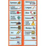 Teacher Classroom Kit Magnetic - French
