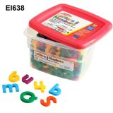 Alphamagnets and Math Magnets Regular Size - Alpha and MathMagnets 214 pieces Multicolored