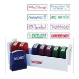 Self-Inking Teacher Stamps Set 2 - 8 Pieces