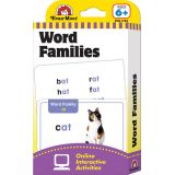 Learning Flashcards - Word Families (Ages 6 and up)