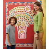 100 Days of Popcorn Bulletin Board