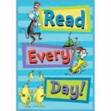 Dr. Seuss Read Everday Poster