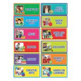 Color My World Center Signs Bulletin Board Set